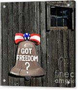 Got Freedom Acrylic Print