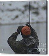 Gotcha   Steelhead Fishing Acrylic Print
