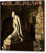 Goth Poster Acrylic Print