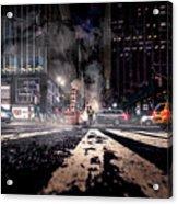 Gotham - Breaking Dawn Acrylic Print