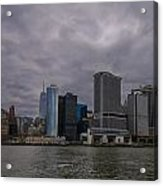 Gotham Sky Acrylic Print