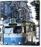 Gothenburg Tram 01 Acrylic Print