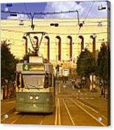 Gothenburg Tram 04 Acrylic Print