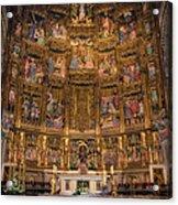 Gothic Altar Screen Acrylic Print