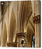 Gothic Arches II Acrylic Print by Dick Wood