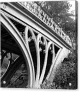 Gothic Bridge Design Acrylic Print