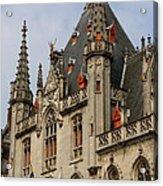 Gothic Bruges Acrylic Print
