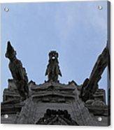Milan Gothic Cathedral Gargoyles Acrylic Print