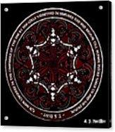 Gothic Celtic Mermaids Acrylic Print