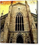 Gothic Church Cathedral Photograph Acrylic Print