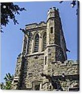 Gothic Church Acrylic Print