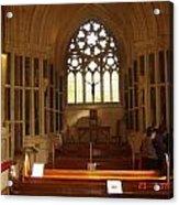 Gothic Church Kylemore Abbey Acrylic Print