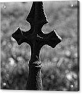 Gothic Cross Acrylic Print by Kelly Kitchens