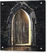 Gothic Light Acrylic Print by Carlos Caetano