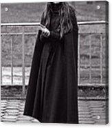 Gothic Miss Acrylic Print
