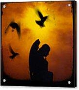 Gothic Silhouette Acrylic Print