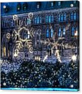 Gothic Snowflakes Acrylic Print