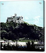 Gothic St Michael's Mount Cornwall Acrylic Print