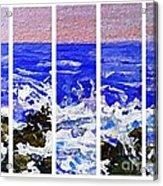 Gottah See Waves  Acrylic Print