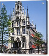 Gouda City Hall Acrylic Print