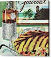Gourmet Cover Of An Omelette Au Ruhm Acrylic Print