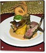 Gourmet Dinner Acrylic Print