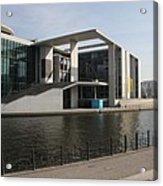 Government Building  Berlin  Acrylic Print