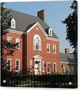 Governor House Annapolis Acrylic Print