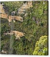 Govetts Leap Falls Acrylic Print
