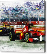 Gp Singapore F1  Acrylic Print