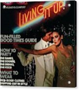 Gq Cover Of A Couple In Disco Setting Acrylic Print