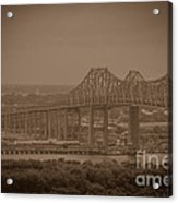 Grace And Pearman Bridges Acrylic Print