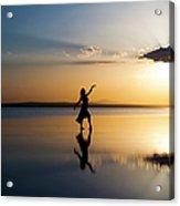 Grace At Sunset Acrylic Print