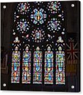 Grace Cathedral Acrylic Print
