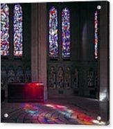 Grace Cathedral Walking Labyrinth - San Francisco Acrylic Print