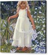 Grace In The Fairy Garden Acrylic Print