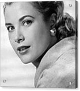 Grace Kelly In Her Prime Acrylic Print