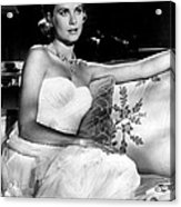 Grace Kelly Looking Gorgeous Acrylic Print