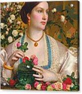 Grace Rose Acrylic Print