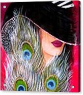 Grace Acrylic Print by Sonya Ragyovska