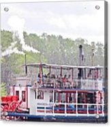 Graceful Ghost Steamboat Acrylic Print