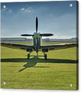 Graceful Spitfire Hdr Acrylic Print