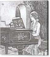Grace's Escape Acrylic Print