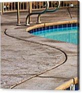 Gracious Curves Palm Springs Acrylic Print