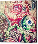 Graff In The City Acrylic Print