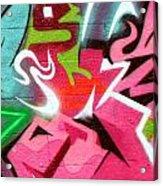 Graffiti 21 Acrylic Print