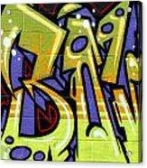 Graffiti 22 Acrylic Print