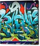 Graffiti 6 Acrylic Print
