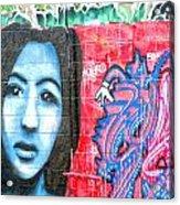Graffiti 9 Acrylic Print