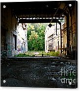 Graffiti Alley 1 Acrylic Print